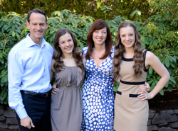 Kevin Robertson and Family, Lake Oswego Oregon